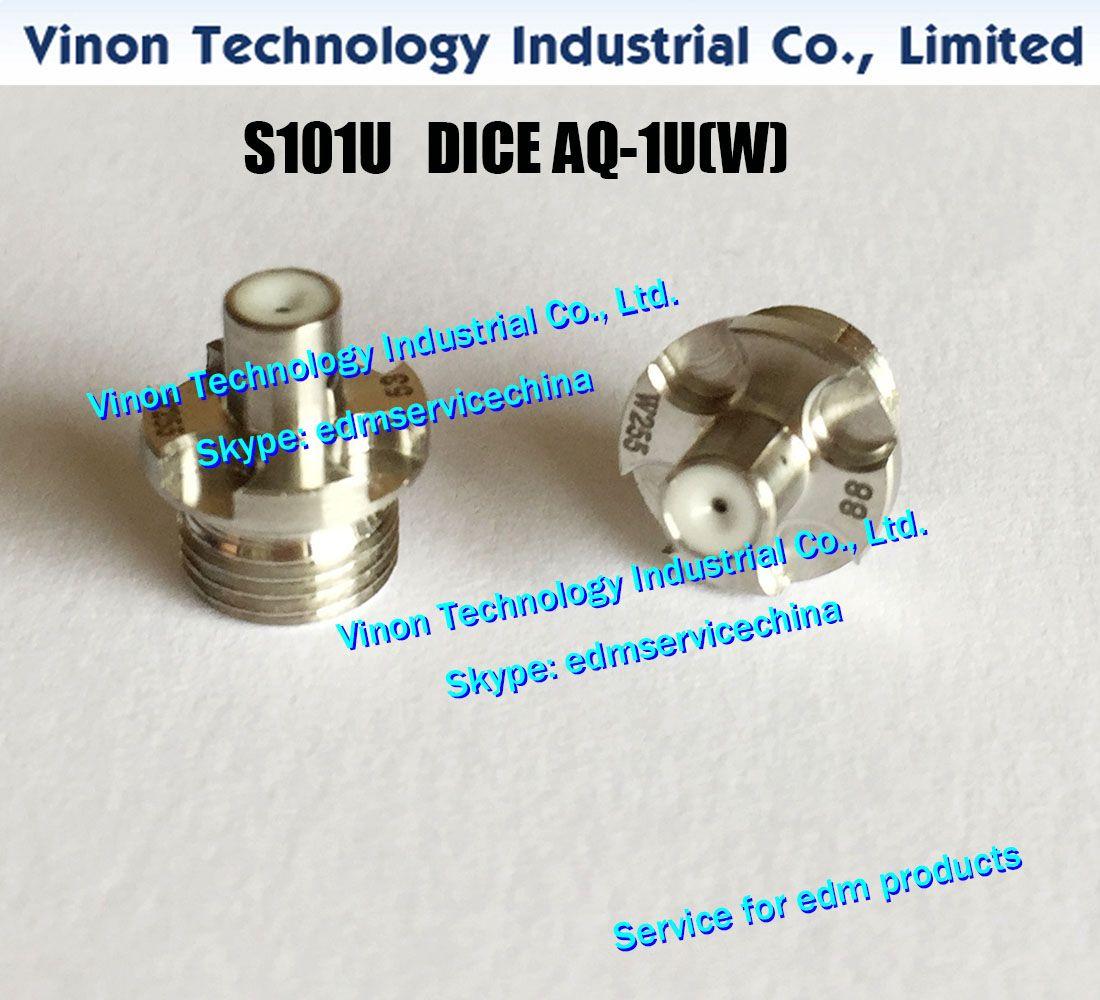 d = 0,255 mm 3110291 DICE AQ-1U (W) S101U Nouveau style de guide-fil en edm (diamant) 0206160 pour AD360, AD325, AG360, AG400, SL400, SL600