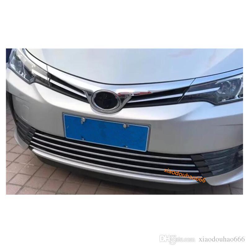 Chromed Car Rear Plate Bottom Cover Decoration Fit For Toyota Highlander 2015