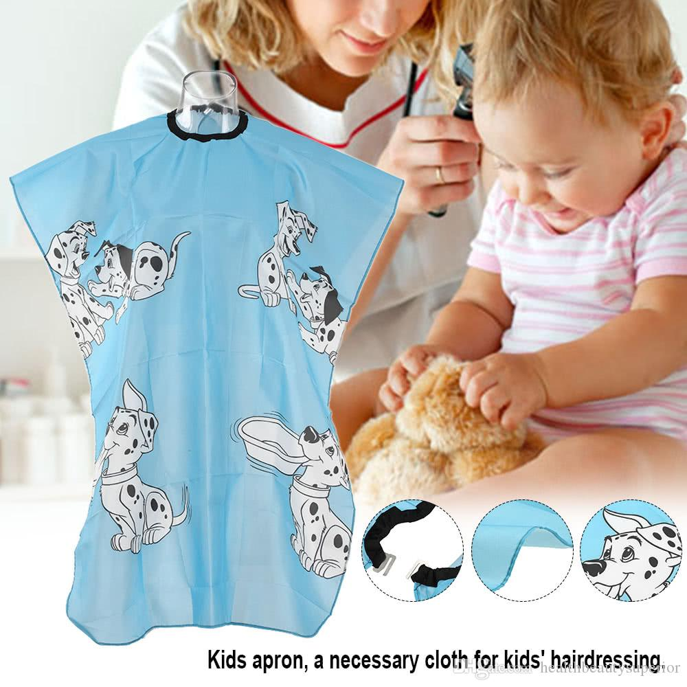Kids Hair Cut Hairdressing Cape Salon Dyeing Barber Gown Cutting Perming Haircutting Apron Hairdresser Capes Waterproof Cloth for Children