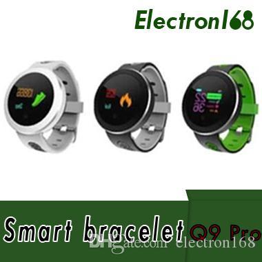 Q8 Pro IP68 Водонепроницаемый унисекс фитнес-трекер смарт-часы браслет Спорт сердечного ритма Smartwatch монитор для IOS Android