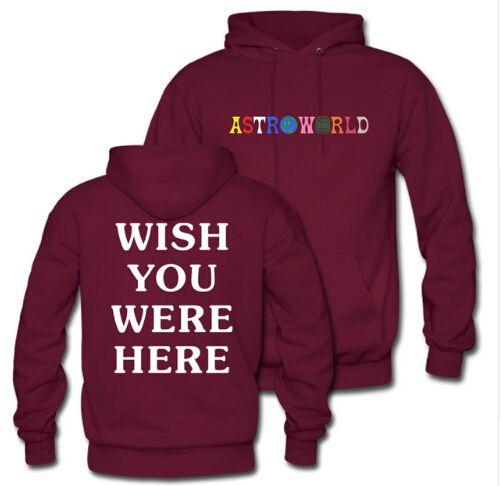 Pullover Männer Frauen Unisex Sweatshirts Pullover Astroworld