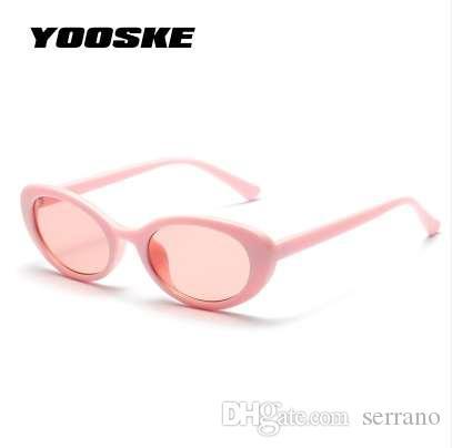Yooske милые дамы кошка овальный глаз женские женщины солнца маленькие круглые сексуальные очки винтажные солнцезащитные очки UV400 для очков женщин VIPPO