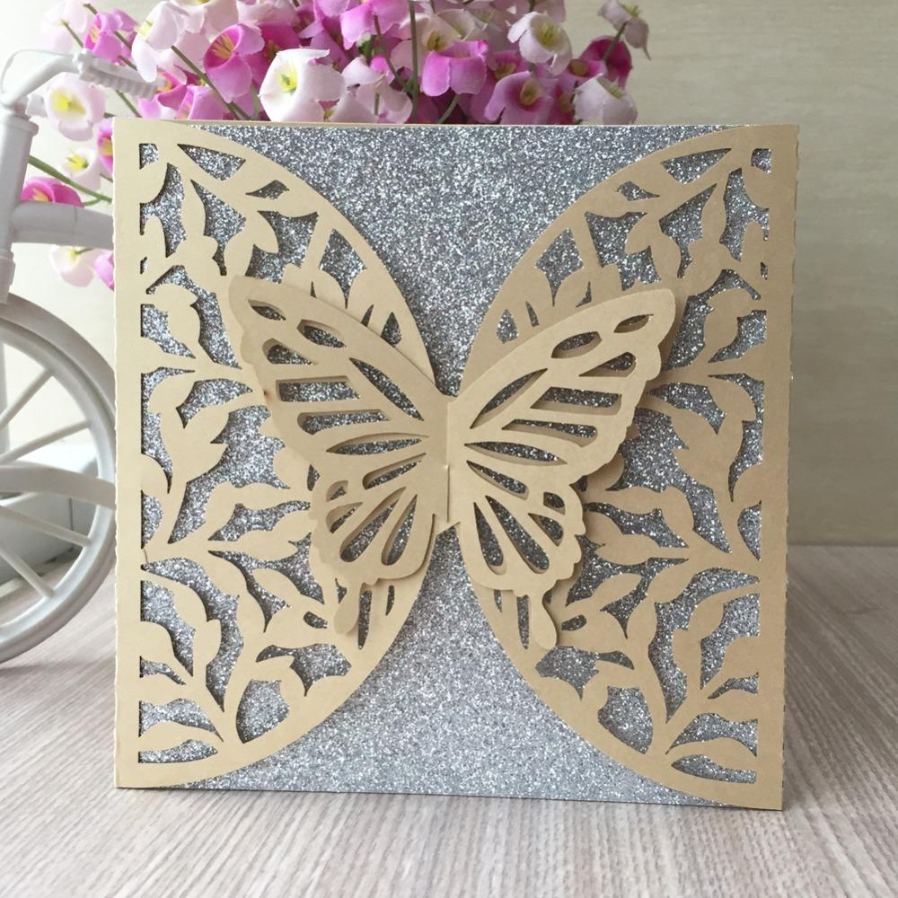 3D Butterfly Design Laser Cut Wedding Card Invitations 2018 Birthday Cards  Thank You Rewards Gifts Free Cards Free Cards To Send From Yigu002, $42.19|  DHgate.Com