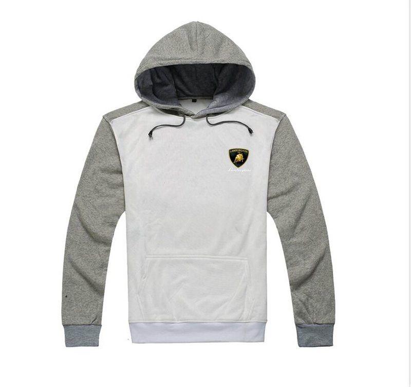 366 freies Verschiffen s-5xl LAMBORGHI Hoodies Männer Winter Mode Hip Hop Sweatshirts Mann Fleece Hoody Pullover Sportswear Kleidung