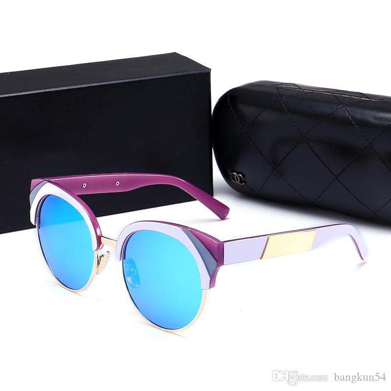 Nouveau designer de mode femme lunettes de soleil plein cadre modèle CH1653 modèle de haute qualité protection uv400 lunettes avec boîte d'origine