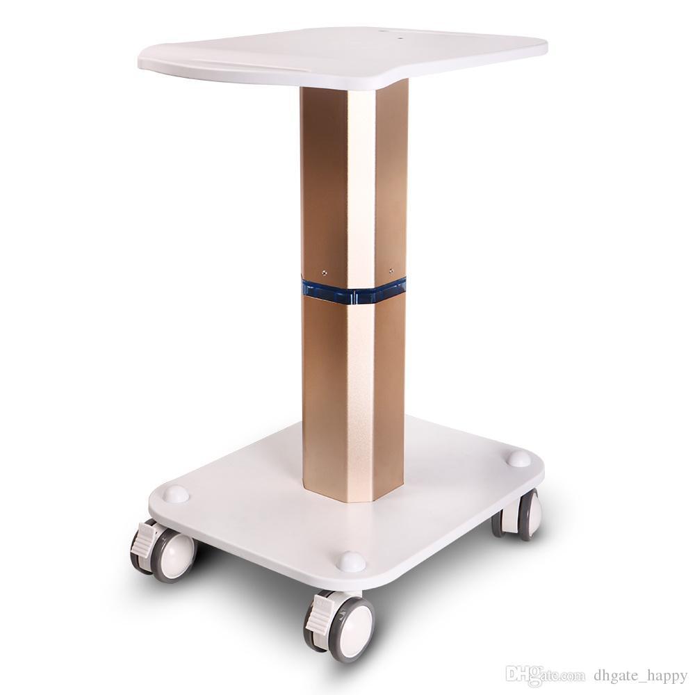 Nueva llegada Styling Pedestal Rolling Cart ABS para Cavitaion Vacío RF Beauty Machine Uso Trolley Stand LLFA