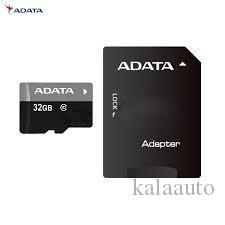 실제 용량 100 % ADATA 32GB 메모리 카드 무료 어댑터 + 블리스 터 판지 패키지 + USA 무료 배송