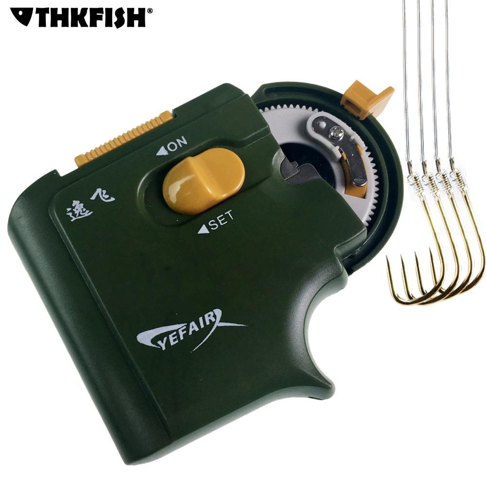 Accessoires de pêche automatiques électriques portatifs de crochet de pêche de machine attachant la ligne de crochets rapides de pêche liant l'appareil
