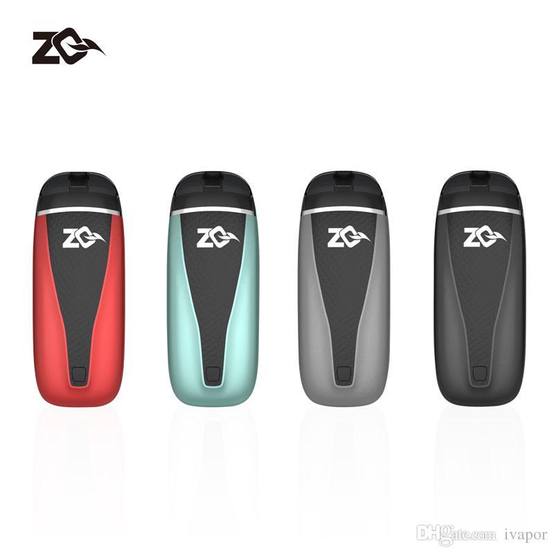 Il nuovissimo ZQ Vi Kit con VI pod 2ml Airflow Inizialmente creato Flavored built-in battery 650mah Ecig Starter Kit ZQ VI Pod Original