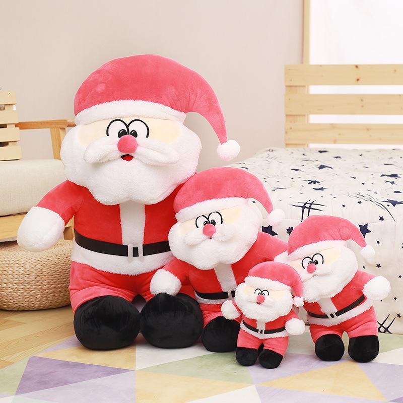 산타 클로스 플러시 베개 크리스마스 쿠션 크리스마스 장식 베개 장식 선물 소년 소녀
