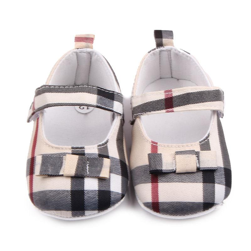 Zapatos de bebé Spring Soft Sole Girl Cotton First Walkers Fashion Baby Girls Shoes Butterfly-not First Sole Kids Shoes