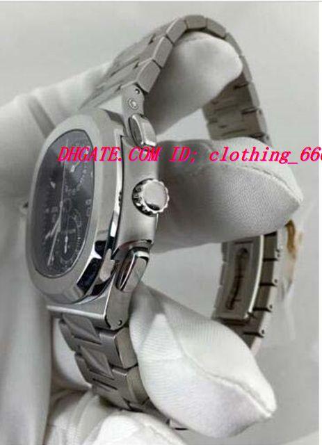 Relojes de pulsera de lujo Relojes Tiempo N @ Utilus 5990 / 1A Chronograph de viaje Cuarzo Hombres Reloj de calidad para hombre CWOSI