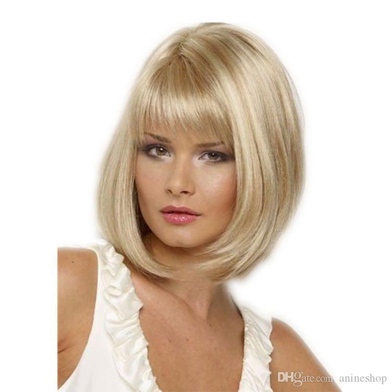 Perücken Haarteile Wig Damenmode Explosion Synthetische
