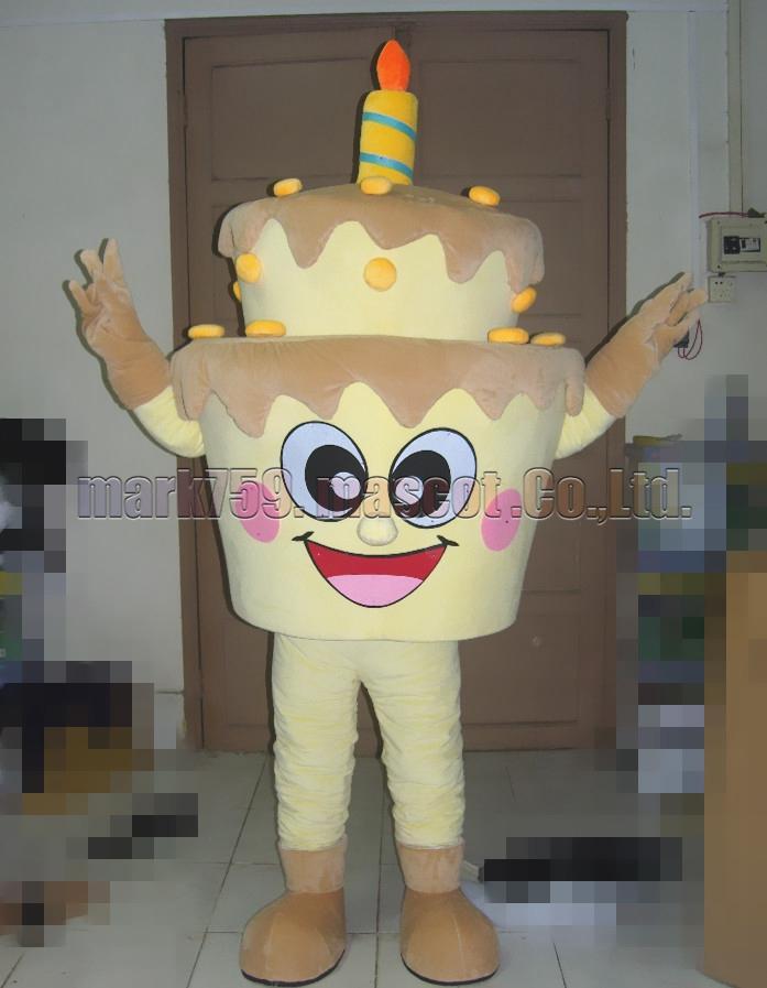 Fantastic Birthday Cake Mascot Costume Adult Size Double Cake Luxurious Personalised Birthday Cards Xaembasilily Jamesorg