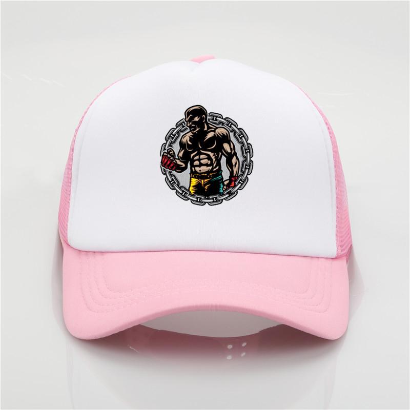 f2303d44 The New Baseball Cap Rest Funny Boxer Fitness Trucker Cap Outdoor Mesh Men  Women Snapback Cap Fashion Dad Hat Hatland Brixton Hats From Menceng1986,  ...