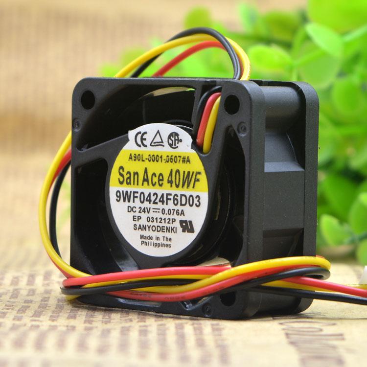 Для 9WF0424F6D03 A90L-0001-0507 # A Оригинальный вентилятор Fanuc Трехконтактный штекер FANUC