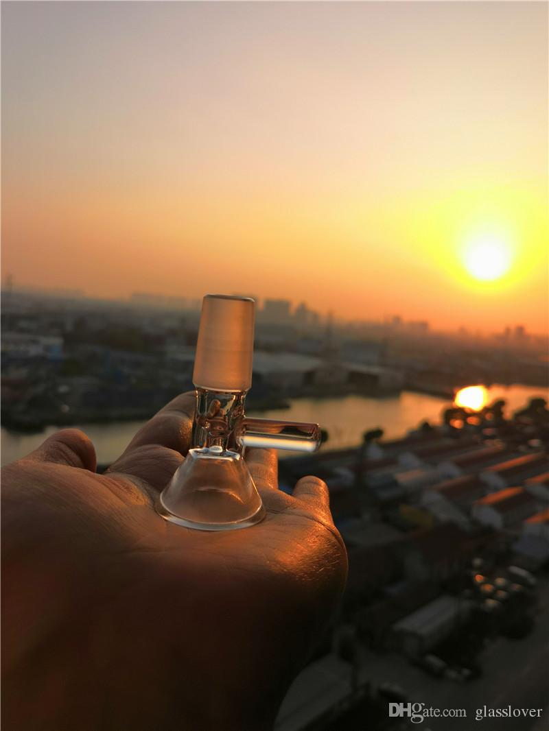 Hot Sale Thick Bowls 14 mm Male Joint Bowl For Glass Bongs Smoking Accessories Free Shipping Smoking Dogo Ash Catcher Banger Cheap