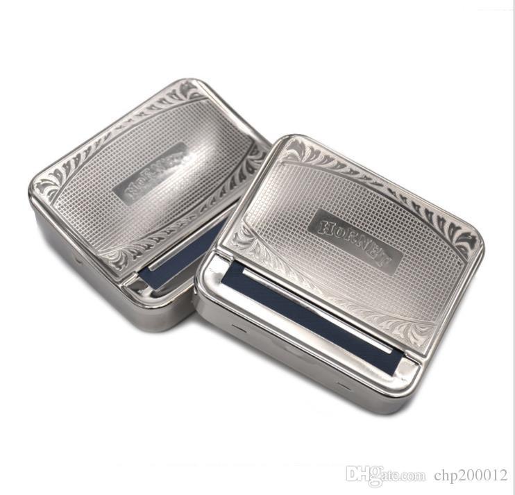 금속 담배 상자, 손 롤 자동 담배 케이스