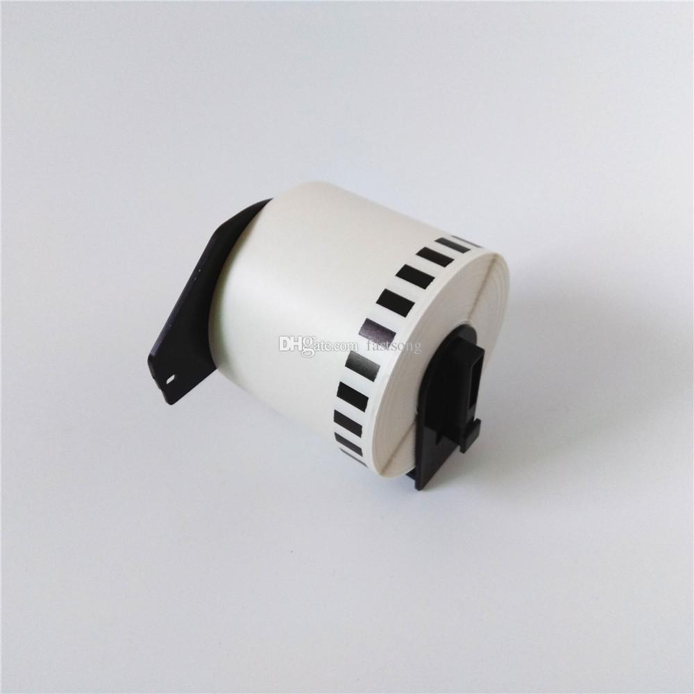 60 x PCS Irmão DK-22205 DK 22205 DK22205 DK2205 DK 2205 DK-2205 Etiquetas Térmicas Compatíveis Cada rolo com moldura
