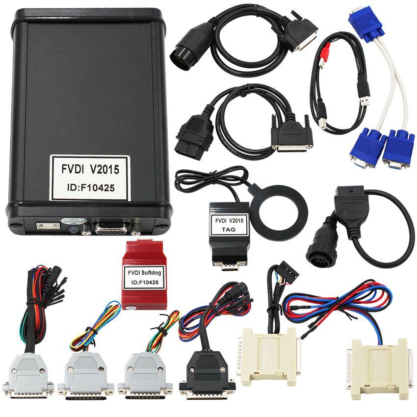 FVDI2015 Version FVDI ABRITES Commander FVDI Diagnostic Scanner tool in stock DHL FREE