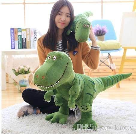 1 قطعة 40/55/70 سنتيمتر جديد الديناصور أفخم لعب الكرتون الديناصور لطيف محشوة لعبة الدمى للأطفال الأطفال الأولاد هدية عيد