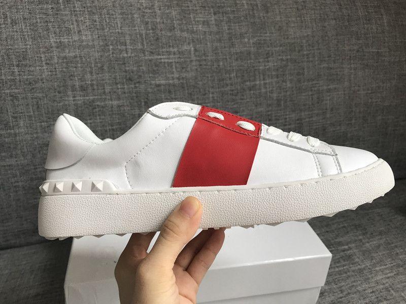 2020 Lady Conforto Vestido Casual sapata do esporte da sapatilha dos homens de couro Casual Shoes Womens lazer Walking Trainers lowtop Sneakers