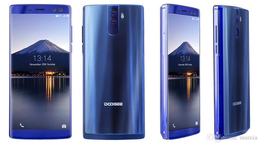 DOOGEE BL12000 pro Smartphone 12000mAh 6GB 128GB 6.0 inch 6.0+13.0MP Android 7.1 18:9 FHD+ MT6763T Octa Core Four Cameras Android 7.0 mobile
