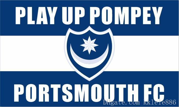 Portsmouth football club tie pin
