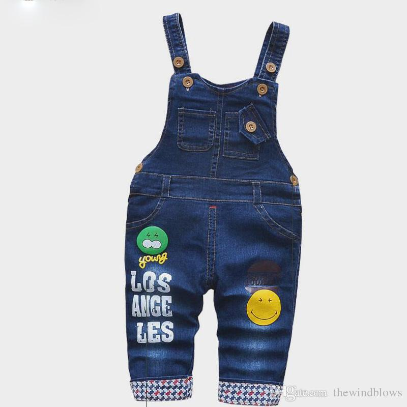 baby boys clothes spring girls denim overalls cotton strap clothing for unisex boys pants casual trousers jeans