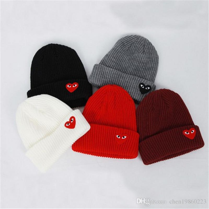 Star with the love glasses pattern fashion men and women knitted wool hat autumn and winter outdoor anti-freeze towards the hat