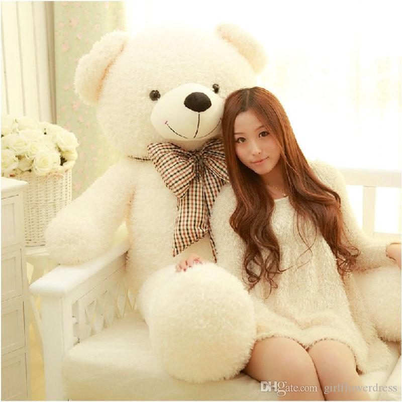 75CM Giant Big Plush Stuffed Teddy Bear Huge Soft 100% Cotton Toy Best Gift