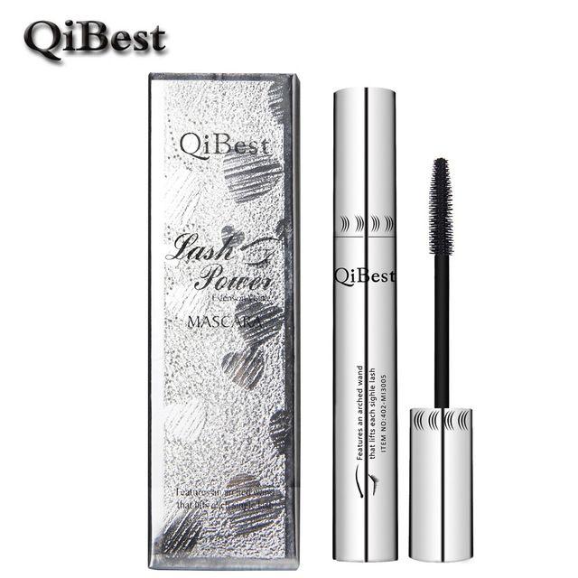 QiBest Lash Power Extension sichtbare starke Wimperntusche Aluminium wasserdichte schwarze Verdickung Mascaras beliebte dichte Verlängerung Wimpern Make-up DHL