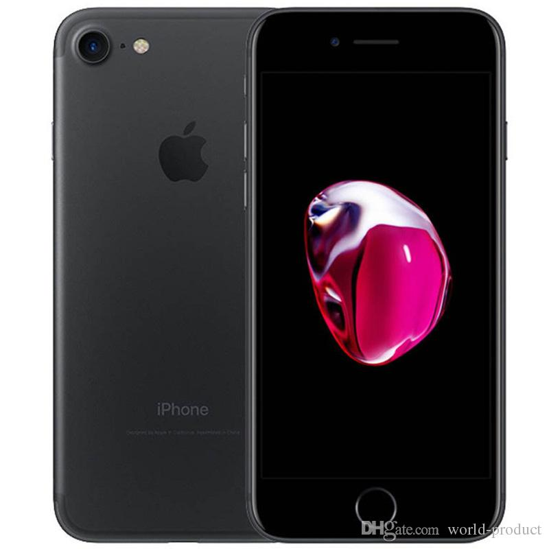 "Original Apple iPhone 7 Refurbished i7 Quad Core 4.7"" 2GB RAM 32GB ROM IOS10 Unlocked Cell Phone 4G LTE"