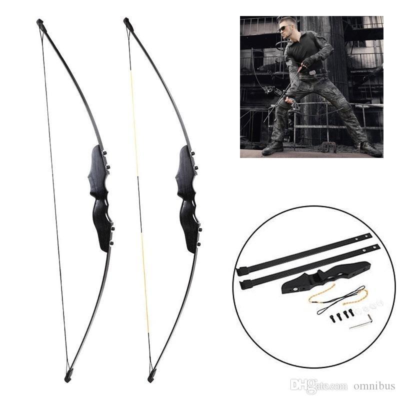 Profesional 56 pulgadas 30-50 libras Conjunto de flechas de ballesta Tiro con arco Caza Derribo Metal Recurvado Arco Mano derecha Objetivo