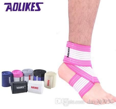 2018 AOLIKES Knöchel Unterstützung Männer und Frauen Sport Knöchelbandage Volleyball Basketball Knöchelschutz Einstellbare Elastische Bänder
