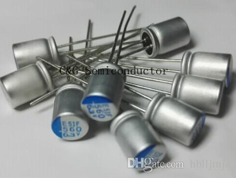 100 SZTUK 6.3V 560UF 6.3v560UF 6SEPC560MW Controlka kondensatora kondensator