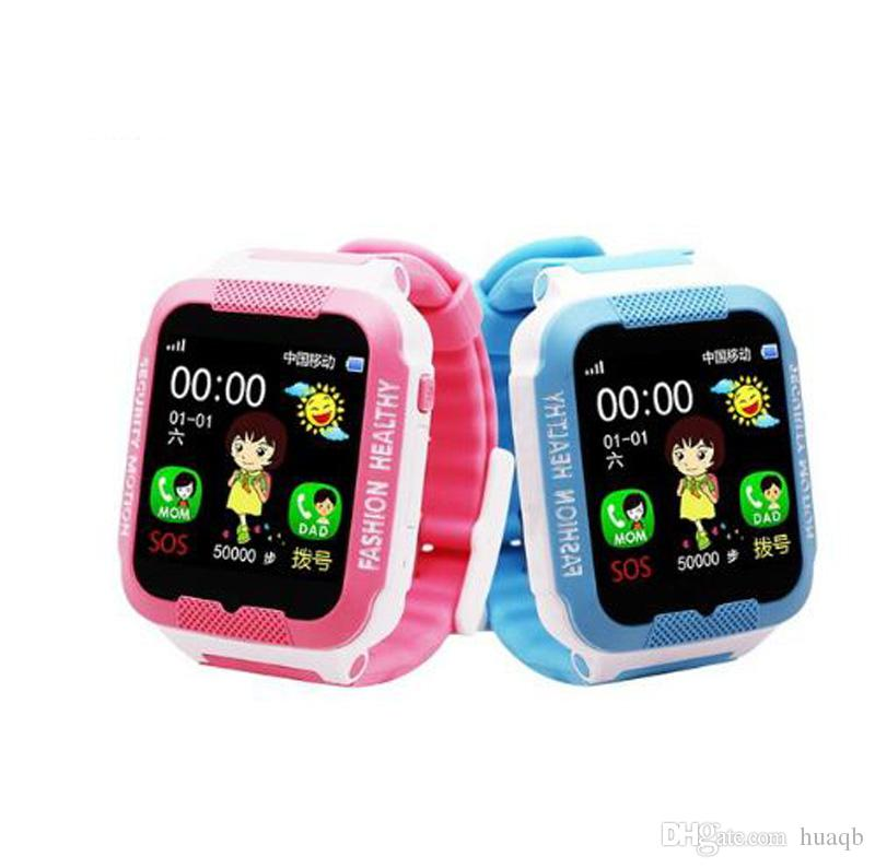 C3 Child Smartwatch IP67 Swim waterproof Phone smart watch SOS Call Location Device Tracker Kids Safe Anti-Lost Monitor