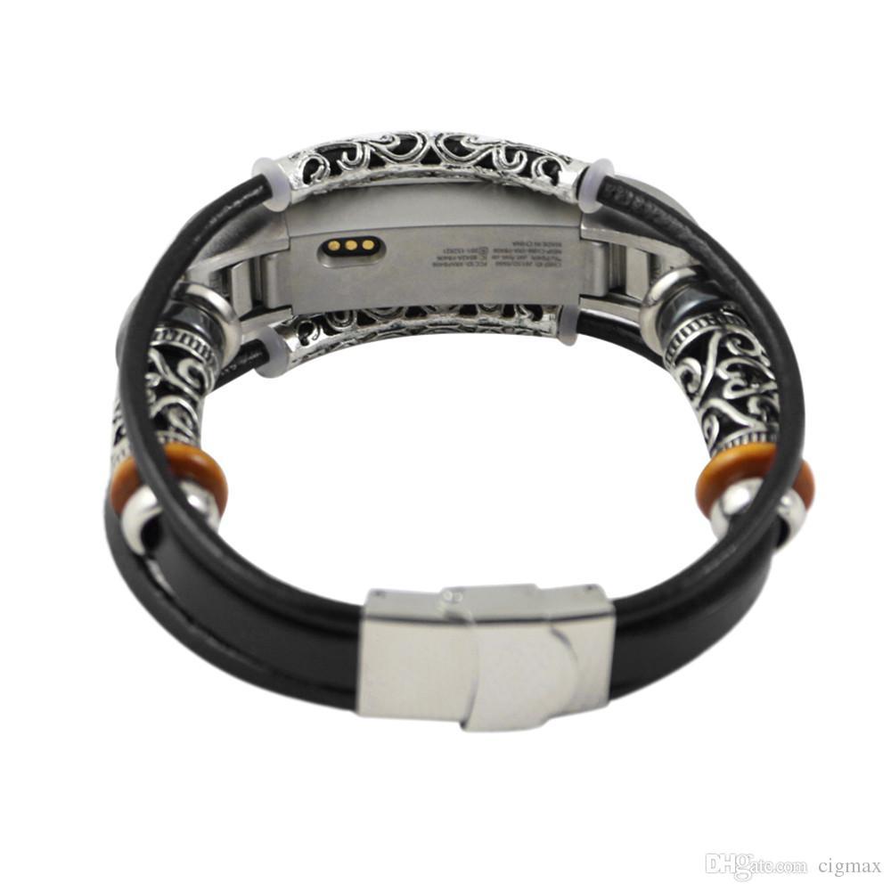 fitbit alta hr bracelet cuir