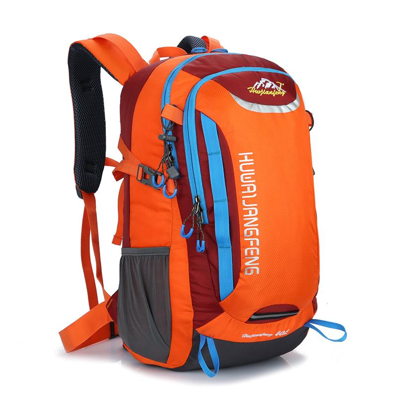 Пешие прогулки рюкзак 40 литров спортивный рюкзак мужчины кемпинг рюкзаки женщина 2018 водонепроницаемый путешествия нейлон рюкзаки мешок dos для подъема