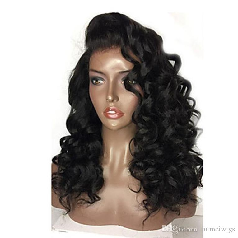 Best Fashion Short Loose Body Wave Full Lace Wig 10-26 Inch In Stock Peruvian Virgin Hair Glueless Lace Front Human Hair Wigs Cheap