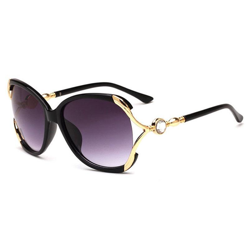 Kadınlar Moda Sunglass Kadın Lüks Güneş Glassess Bayanlar Vintage Boy Sunglases Yapay elmas Designer İçin Güneş Gözlüğü 6L0A16 güneş gözlüğü