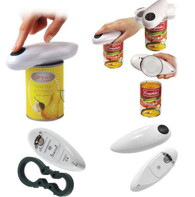 Automatische Dosenöffner Tin geöffnetes Werkzeug Akku-Batterie Behälter betriebenen Elektro Tin Flaschenöffner EEA341 12st