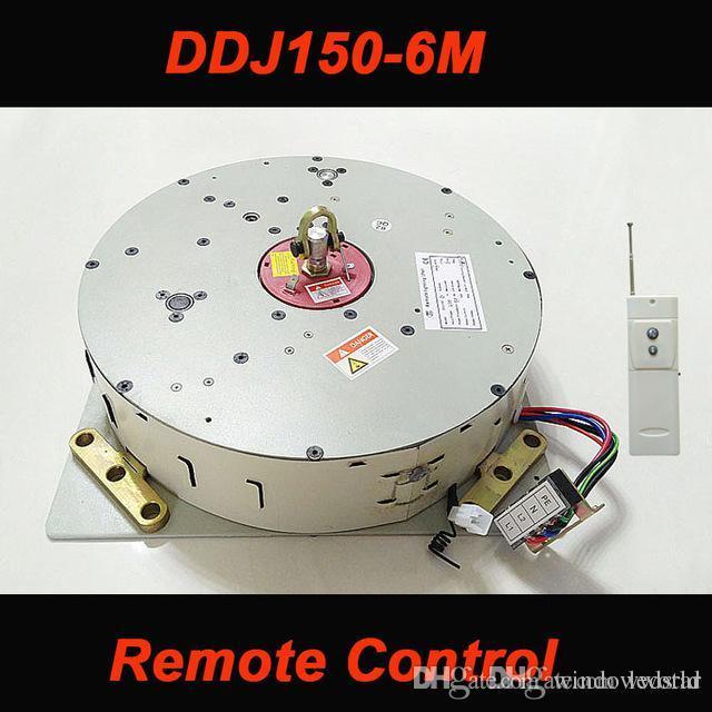 DDJ150 150 KG 6 M Oto Uzaktan kumandalı Avize Kaldırma Aydınlatma Kaldırma Sistemi Elektrikli Vinç Lamba Motoru AC 85-265 V