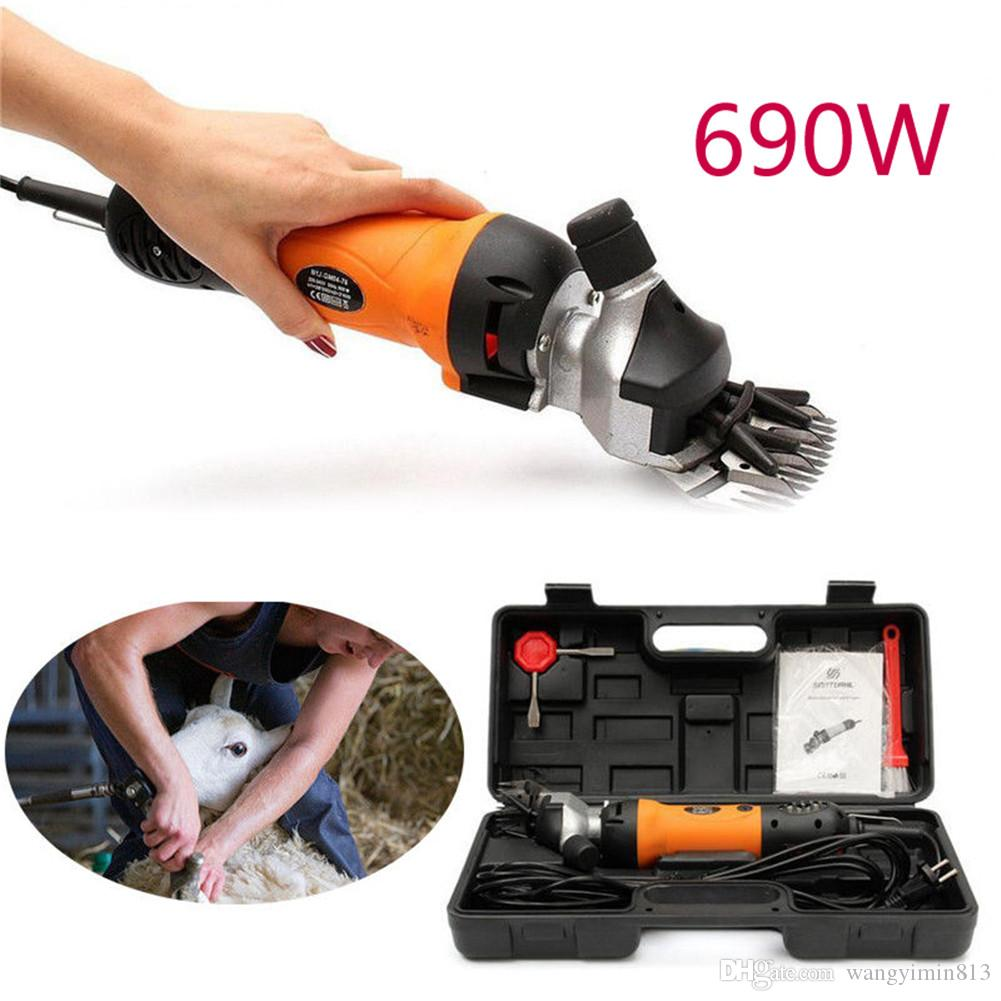690W Electric Shears Shearing Clipper Animal Sheep Goat Pet Farm Machine