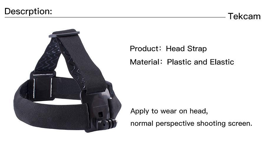 gopro sjcam xiaomi yi action camera head strap mount1