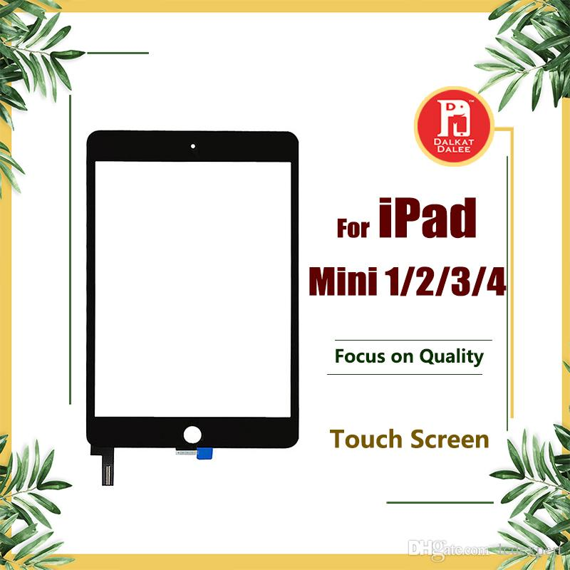 Touch Screen for iPad mini 1 2 3 4 Digitizer Screen Glass Replacement For Apple iPad Mini 1 2 3 4 Black White