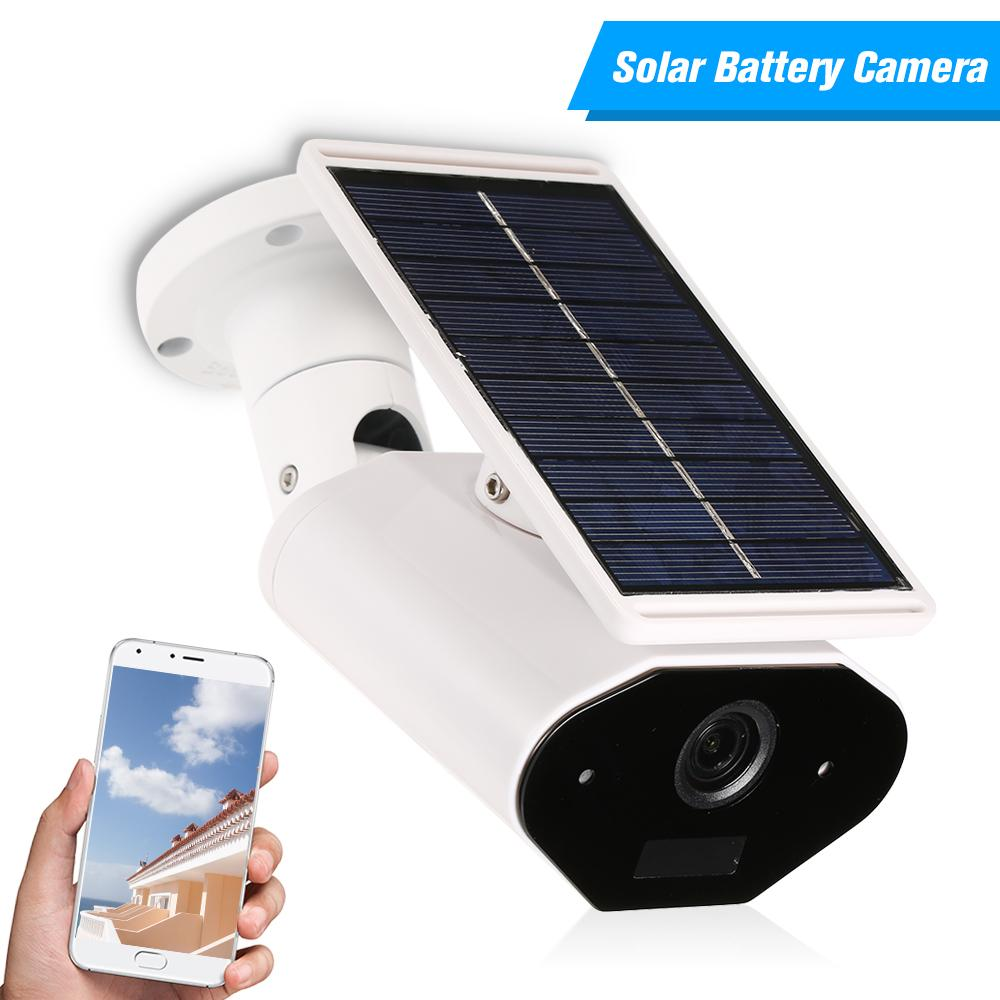 방수 야외 WIFI IP 카메라 960P 태양 전지 전원 홈 보안을위한 낮은 전력 소비 감시 카메라
