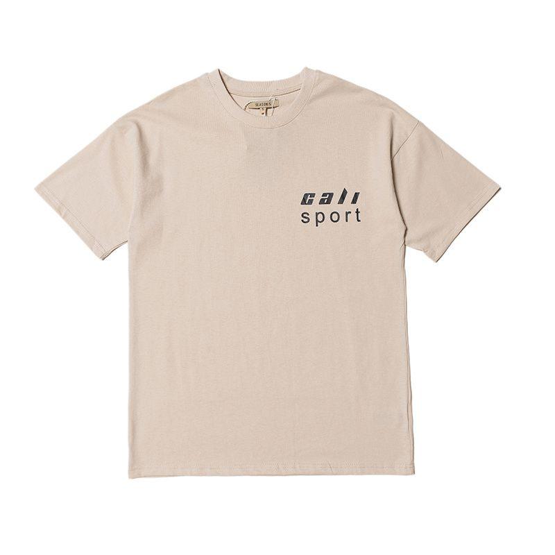 Migliore versione Calabasas Stagione 5 CaliSport Stampa donne degli uomini magliette delle parti superiori della camicia Tee Hiphop Streetwear Men in cotone T