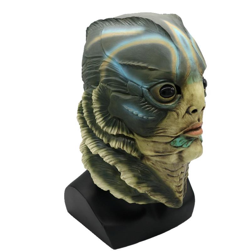 MostaShow Halloween Cosplay Carnival Costume Easter Christmas Full Actor's Headgear Creepy Latex Masks