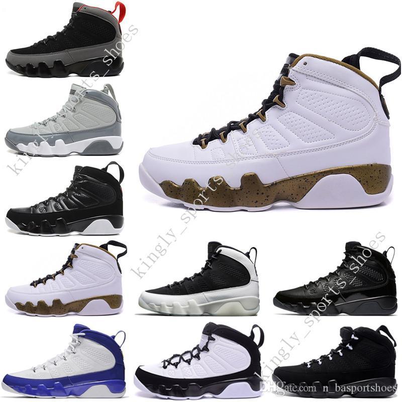Высокое качество 9 9S мужская баскетбольная обувь OG Space Jam Tour синий PE Антрацит дух Джонни Килрой doernbecher 2010 релиз мужчины США 7-13